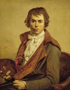Autoportrait (de David) 1794 ©Musée du Louvre