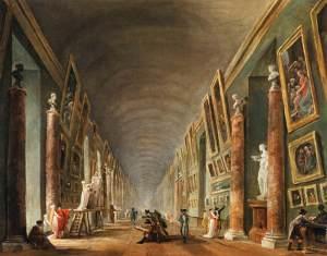 La Grande Galerie Hubert Robert ©Musée du Louvre