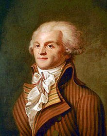 Robespierre vers 1790 Anonyme ©Musée Carnavalet