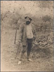 Monet par Théodore Robinson en 1890