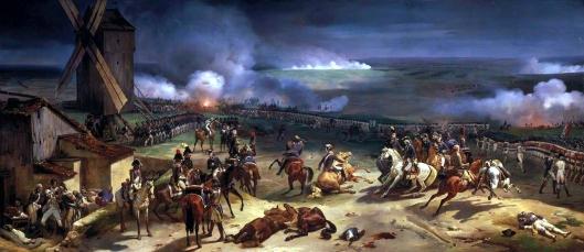 La bataille de Valmy, 2à septembre 1792 par Jean-Baptiste MAUZAISSE © Photo RMN-Grand Palais - D. Arnaudet / G. Blot